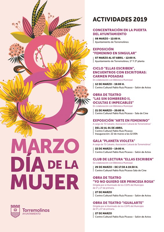Torremolinos Torremolinos Torremolinos arranca las actividades en torno al Día Internacional de la Mujer con la exposición 'Femenino Singular'