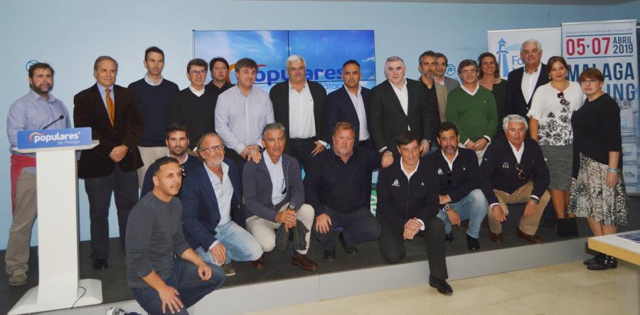 Malaga Malaga El Secretario de Economía Azul del PP reúne a representantes del sector náutico-marítimo de Málaga y provincia para escuchar sus propuestas y necesidades