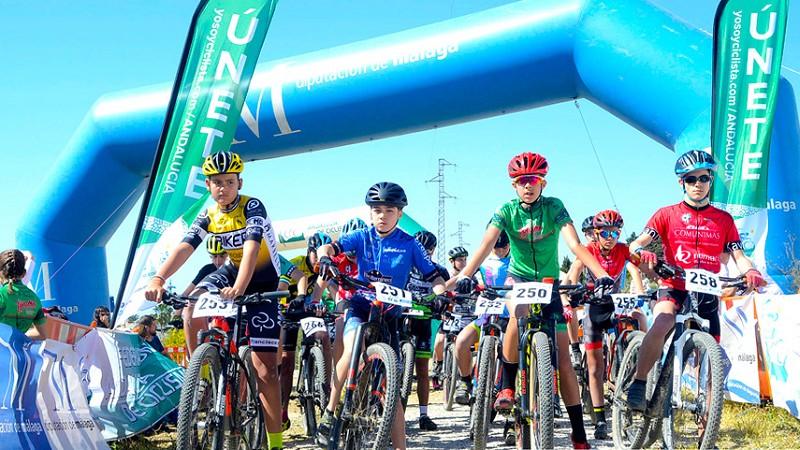 Actualidad Actualidad Unos 150 jóvenes ciclistas participaron en la modalidad BTT Escuelas del Provincial en Nerja