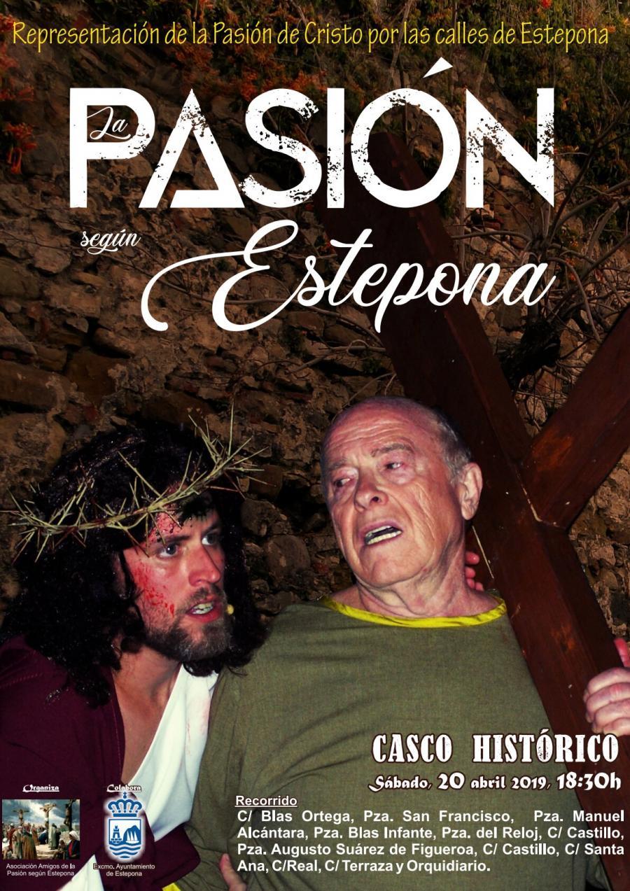Estepona Estepona Un centenar de vecinos representarán 'La Pasión según Estepona' por las principales calles del centro histórico