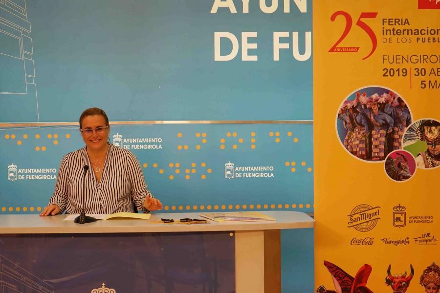 Fuengirola Fuengirola La Feria Internacional de los Pueblos cumple su 25º aniversario mostrando el carácter cosmopolita de Fuengirola del 30 de abril al 5 de mayo