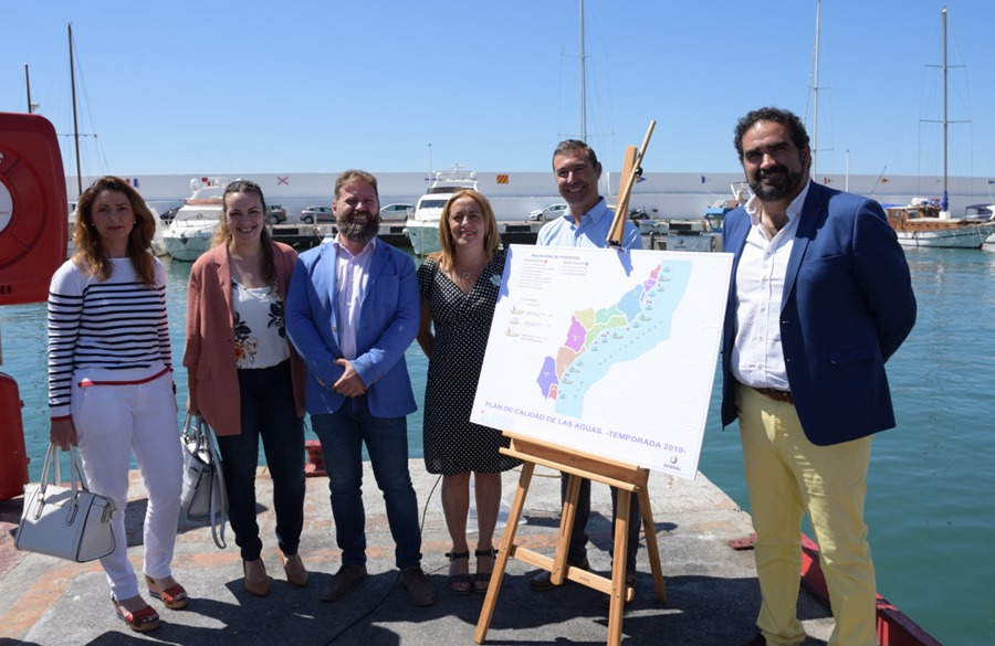 Mancomunidad Mancomunidad Acosol pone en marcha, por tercer año consecutivo, el servicio de embarcaciones para el control de calidad de las aguas en el litoral durante los meses de verano